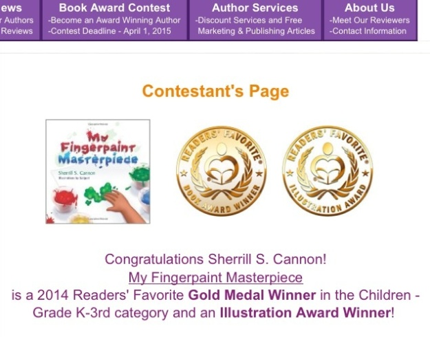 Readers' Favorite Gold Medal Children K-3, and Illustration Award for Kalpart
