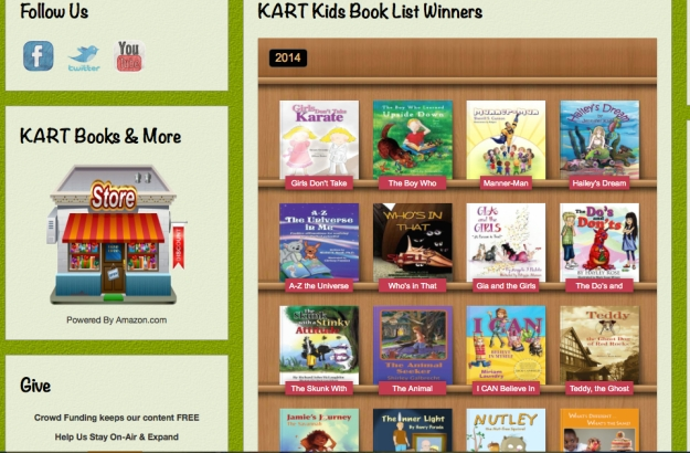 2014 KART Kids Book List Winners