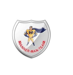 Manner-Man Badge