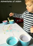 Painting with cornflour