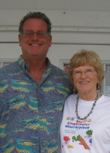 Connecting with my Publisher, CEO of SBPRA, Robert Fletcher, in the Keys!!