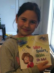 My Jr. Reviewer, Olivia, loves Mice & Spiders & Webs... The book, that is..