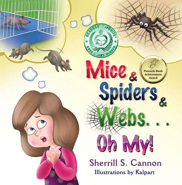 Readers' Favorite Award for Mice & Spiders & Webs...Oh My! - HM in Children's Educational