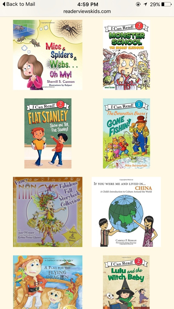 Kid Lit Reviews 2015