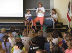 Reading to the Kids..my favorite activity!