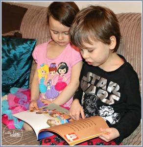 Tristan reads to Kallista